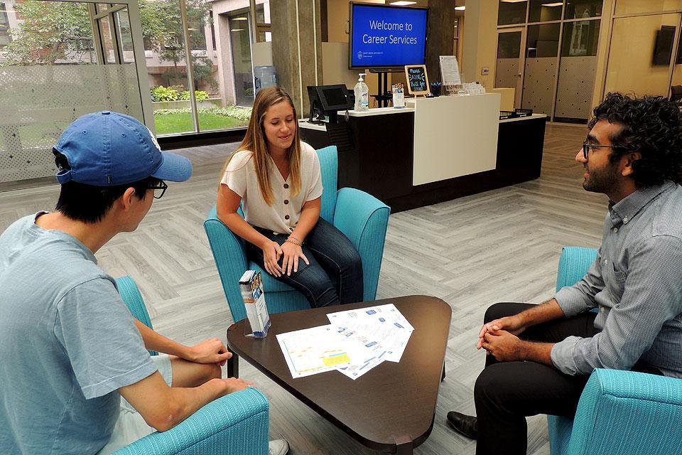 Career Services Expands, Innovates to Serve Billikens : SLU