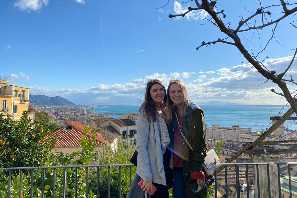Twelve undergraduate students embarked on a winter break journey to learn about the food and culture of Italy through SLU's Department of Nutrition and Dietetics.