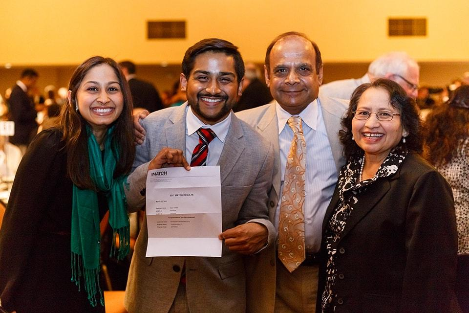 SLU Medical Students Celebrate Match Day 2017 with Family
