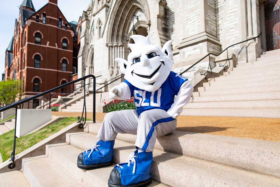 Billiken at College Church