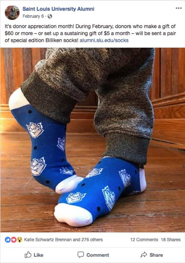 facebook launch socks