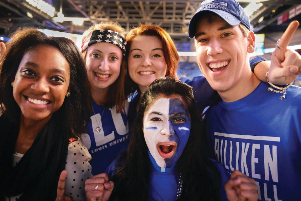 SLU students