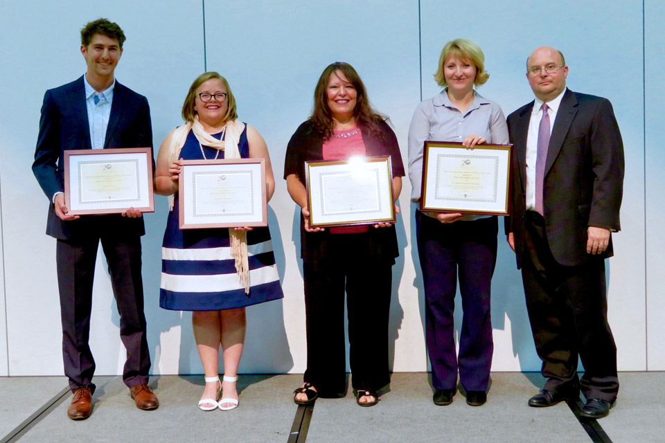 Past Recipients of the Grueber Awards