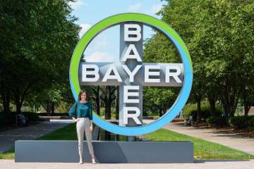 Kelsie Eckert Cozart, a recent graduate of the Chaifetz School with a B.S. in international business and French '18, secured a full-time position as a Global Planning Analyst at Bayer