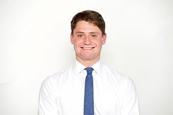 A headshot of Chaifetz School senior Trevor Halliburton.