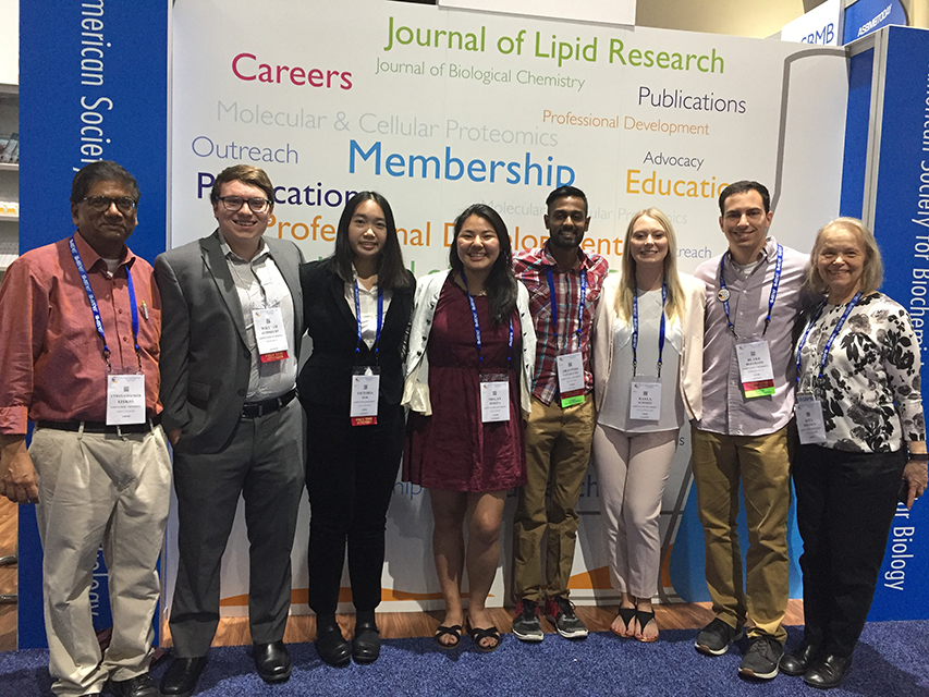 IMS Students that presented at the Experimental Biology Conference