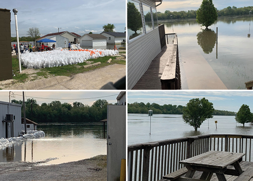 Hardin, IL Flood Images