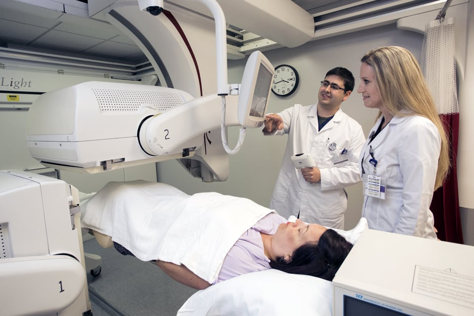 Nuclear Medicine Technology students