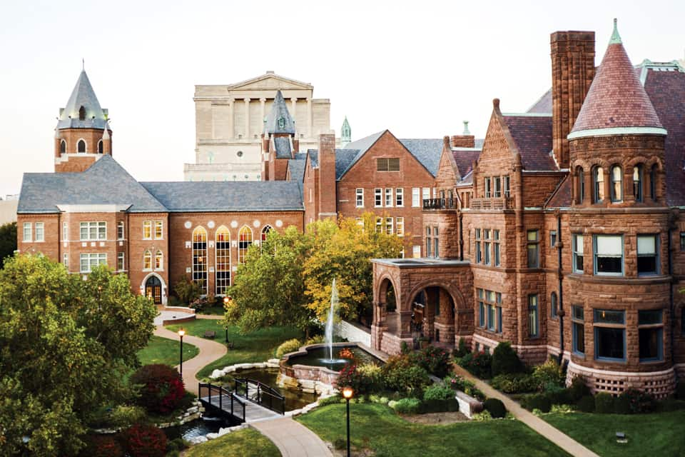 View of Saint Louis University