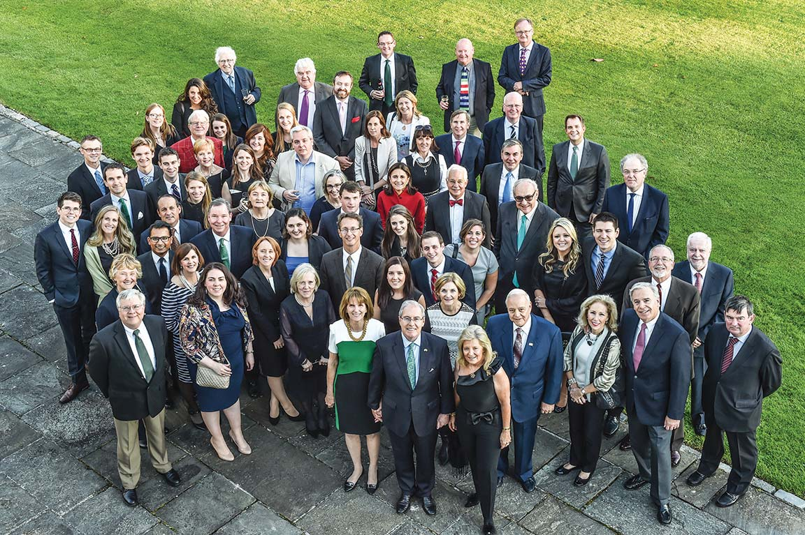 SLU LAW alumni, faculty, staff and friends on the School's inaugural trip to Dublin in 2015.