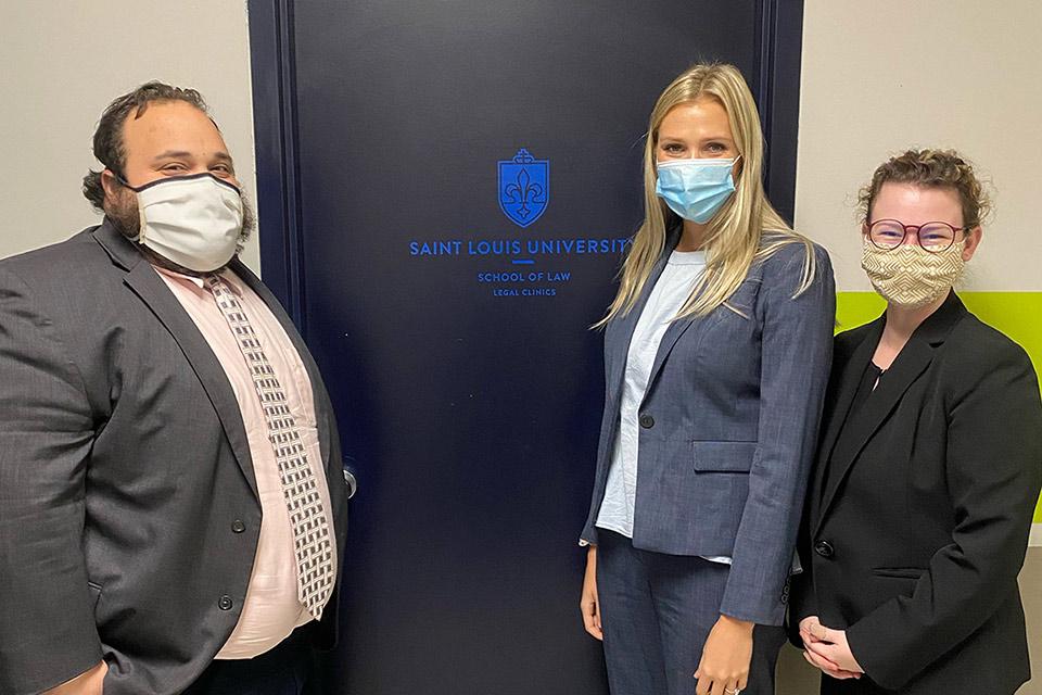 Mission: St. Louis and SLU LAW Legal Clinics team