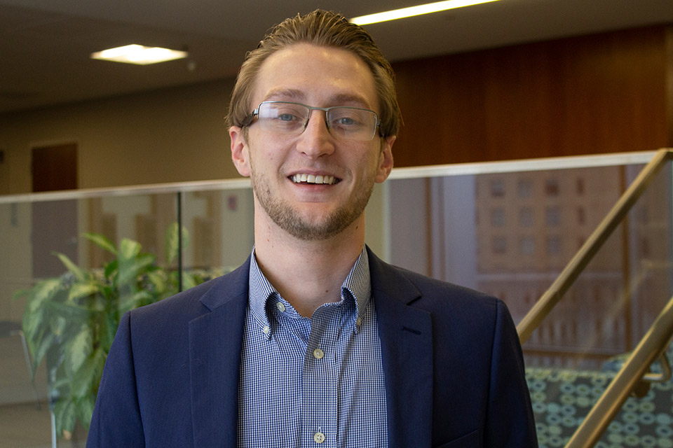 Gage Barrows is a third-year law student who is in his second semester working in the Legal Clinics.