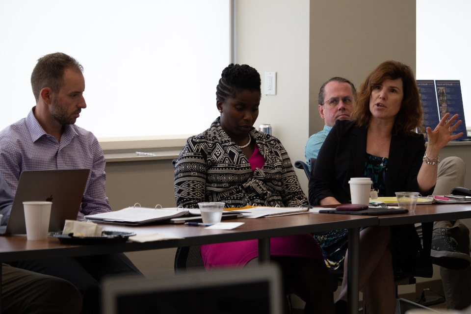Heath law professors Elizabeth Pendo, Ruquaiijah Yearby, and the Center's director Sidney Watson contributed to a report assessing the legal response to COVID-19.