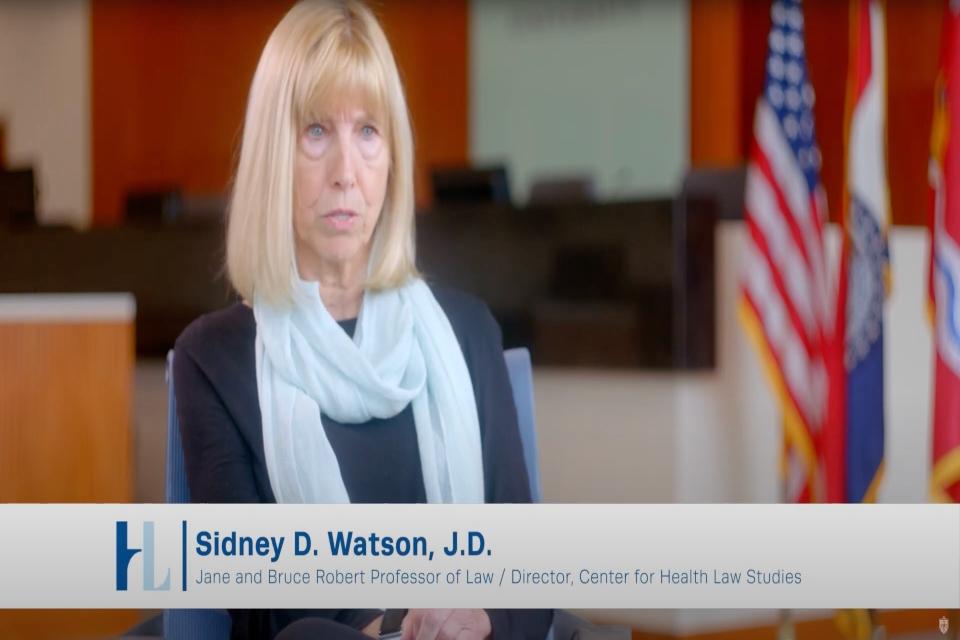 Sidney Watson in an AHLA interview