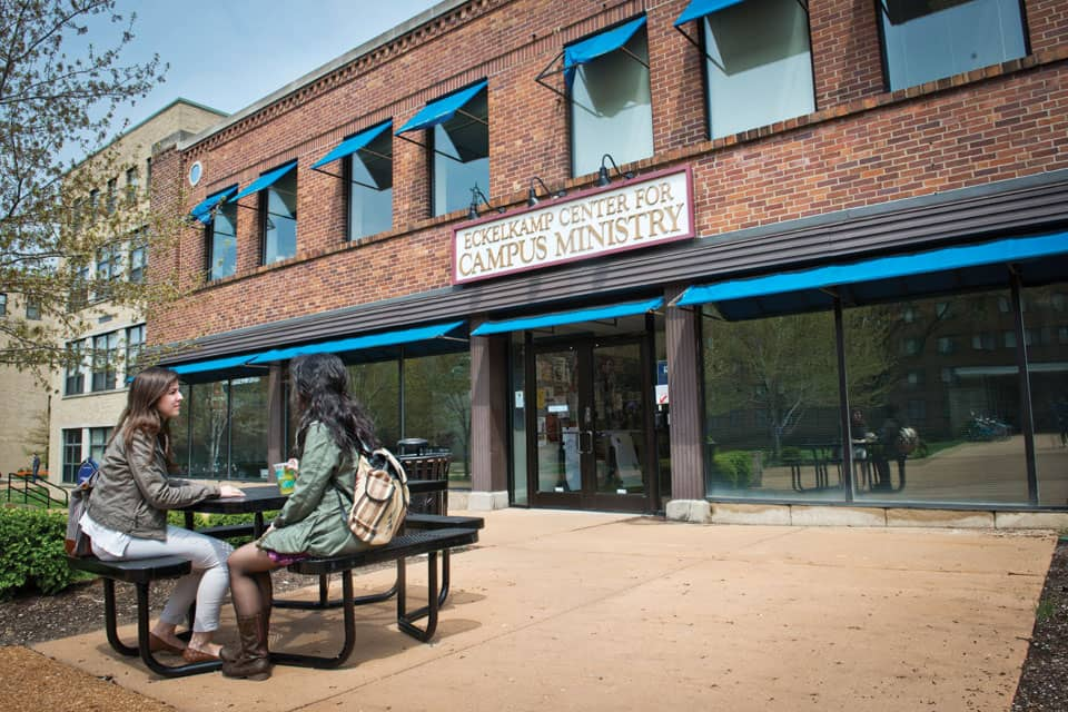 Saint Louis University's Center for Service and Community Engagement is now the Center for Social Action, a move that more fully encompasses the work of the Center and the mission of the University.
