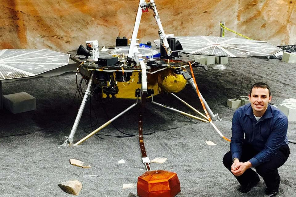 Fernando Abilleira ('99, '01) has been working at NASA for 17 years, which has included his involvement with various projects and program. Most recently, he is working on the Mars Insight Mission.