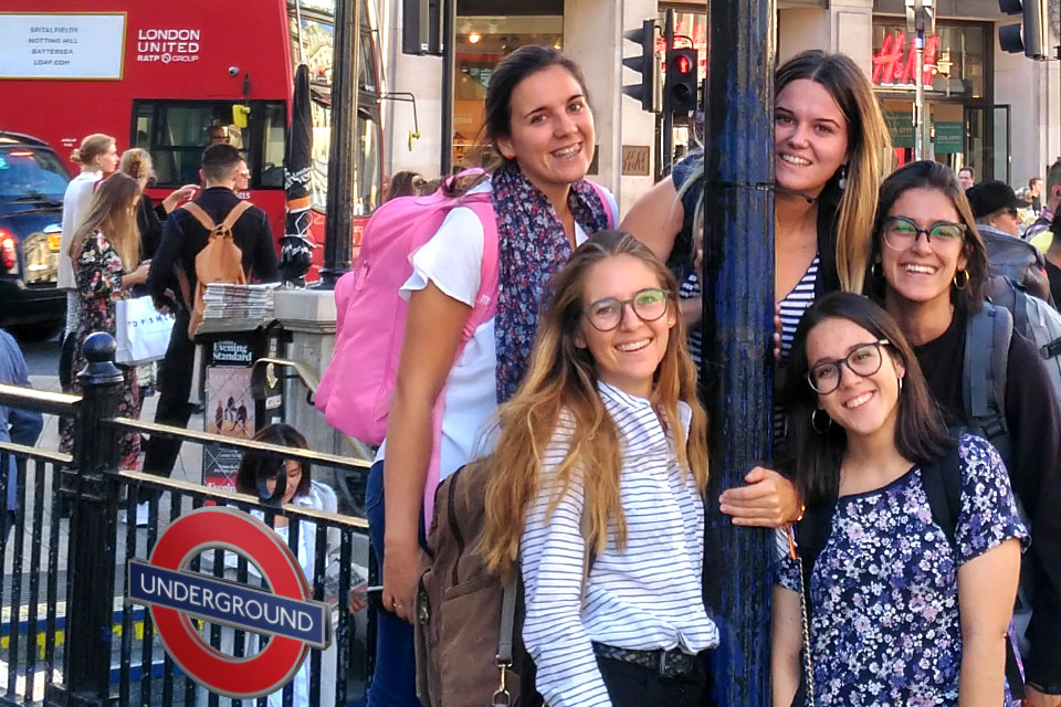 International Marketing students travel to London for a marketing project.