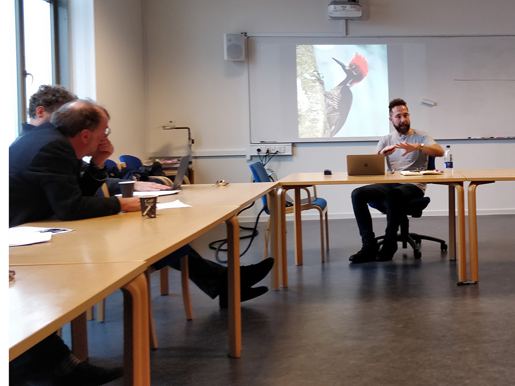 Dr. Segovia teaches at Aarhus University in Denmark.