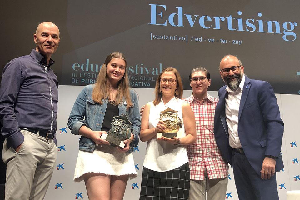 The Saint Louis University bicentennial campaign, 200-Years-in-One Challenge, garnered two awards at the third annual Educafestival, an international educational advertising competition.