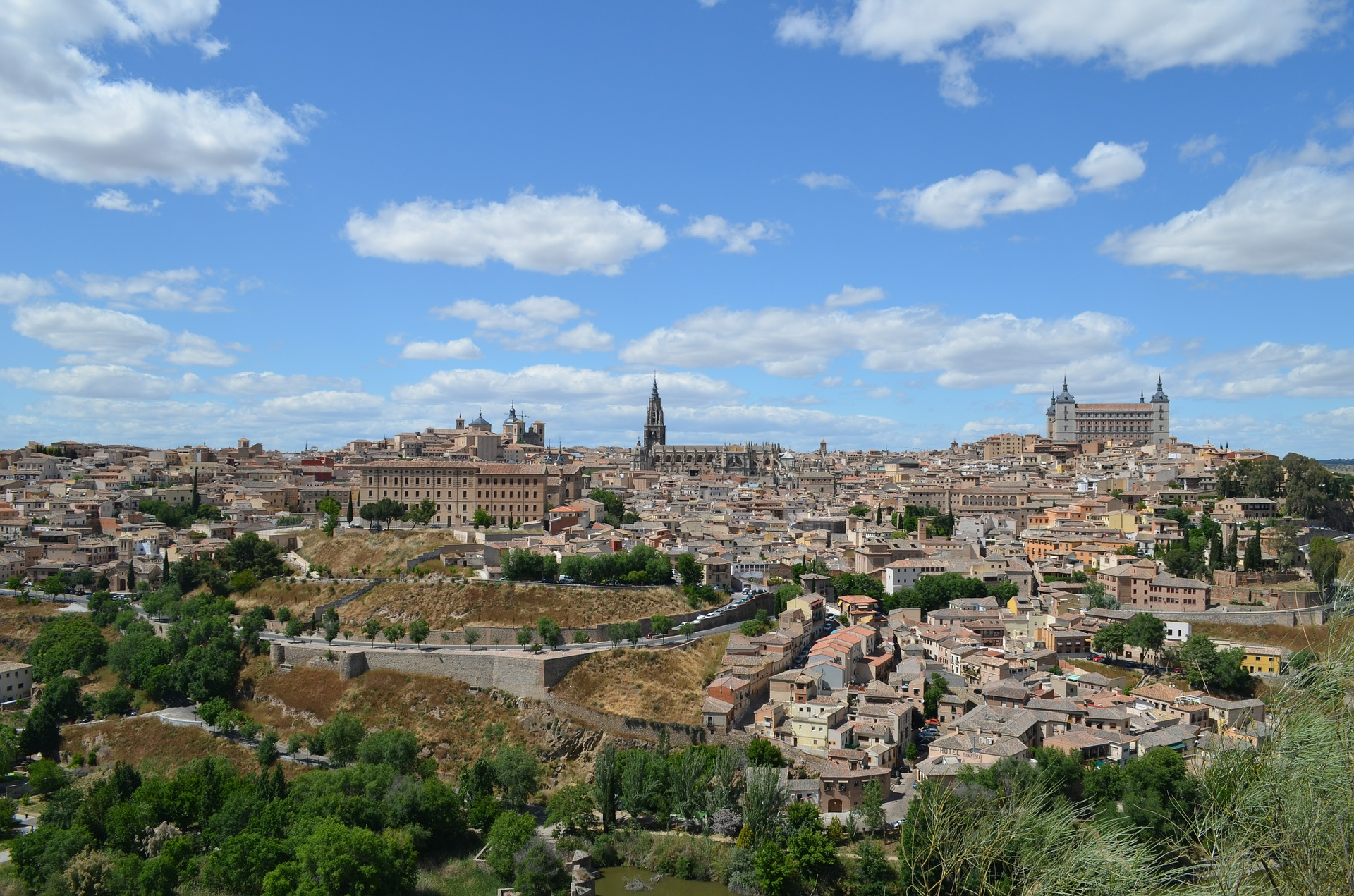 The final day of the program was spent touring Toledo, a UNESCO World Heritage Site and one of Spain's most ancient cities.
