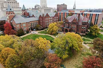 In its latest Best Colleges ranking, U.S. News & World Report ranked Saint Louis University as one of the nation's Top 50 Best Value Schools, affirming again that SLU students get a first-class education at an affordable cost on both of SLU's campuses: St. Louis and Madrid.