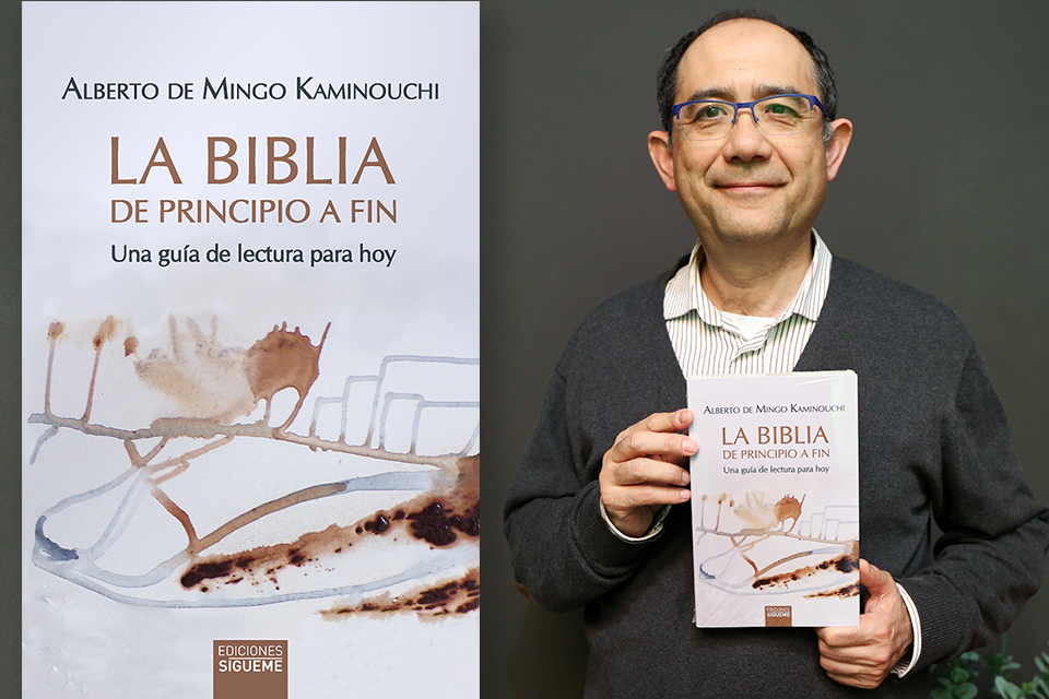 "Theology professor Dr. Alberto de Mingo recently published a comprehensive reading guide for the Bible, entitled, ""La Biblia de Principio a Fin: Una guía de lectura hoy."""