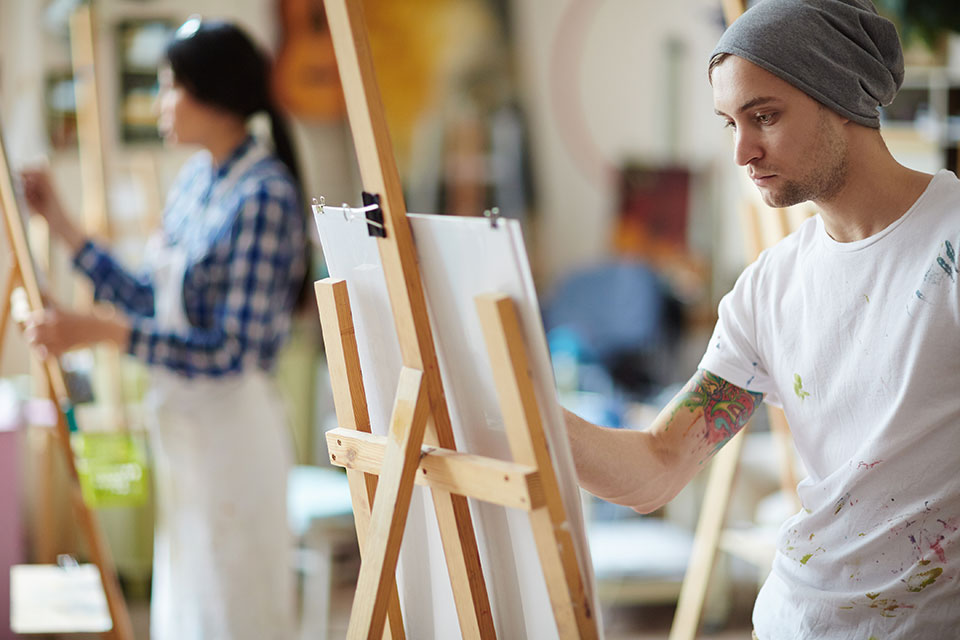 SLU-Madrid currently offers 23 minors, including the minor in studio art, which features a newly revamped academic curriculum.