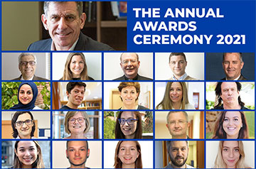 The SLU-Madrid community connected online from across the globe to honor outstanding achievement and raise a glass to the Class of 2021.