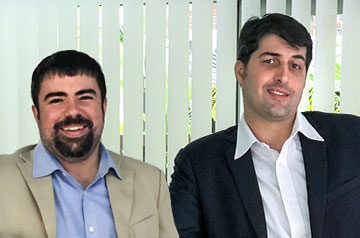 Twenty years after meeting as first-year students at SLU-Madrid, Brendan Lanza ('05) and Diego Gestri are business partners who founded the Qosmo International School in Kuala Lumpur, Malaysia.