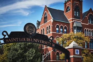 Saint Louis University gateway