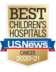 Best Children's Hospital Presented By US World News and Report for Cancer 2020-2021