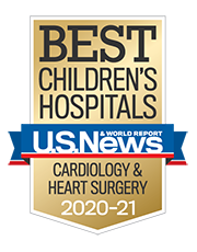Best Children's Hospital Presented By US World News and Report for Cardiology and Heart Surgery 2020-2021