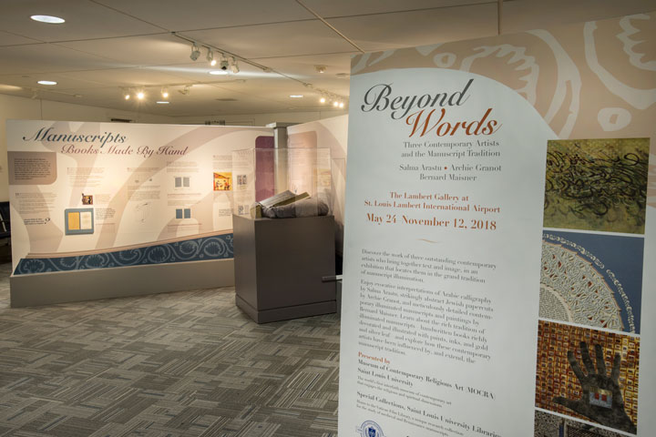 Beyond Words: Three Contemporary Artists and the Manuscript Tradition