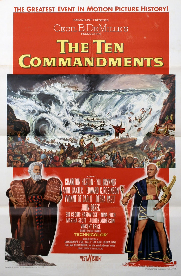 Celluloid Bible Classics: <i>The Ten Commandments</i>