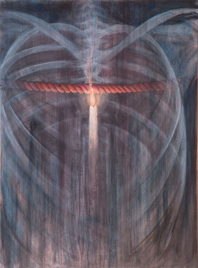 Donald Grant, Rope and Flame, 1992. Courtesy of the artist.