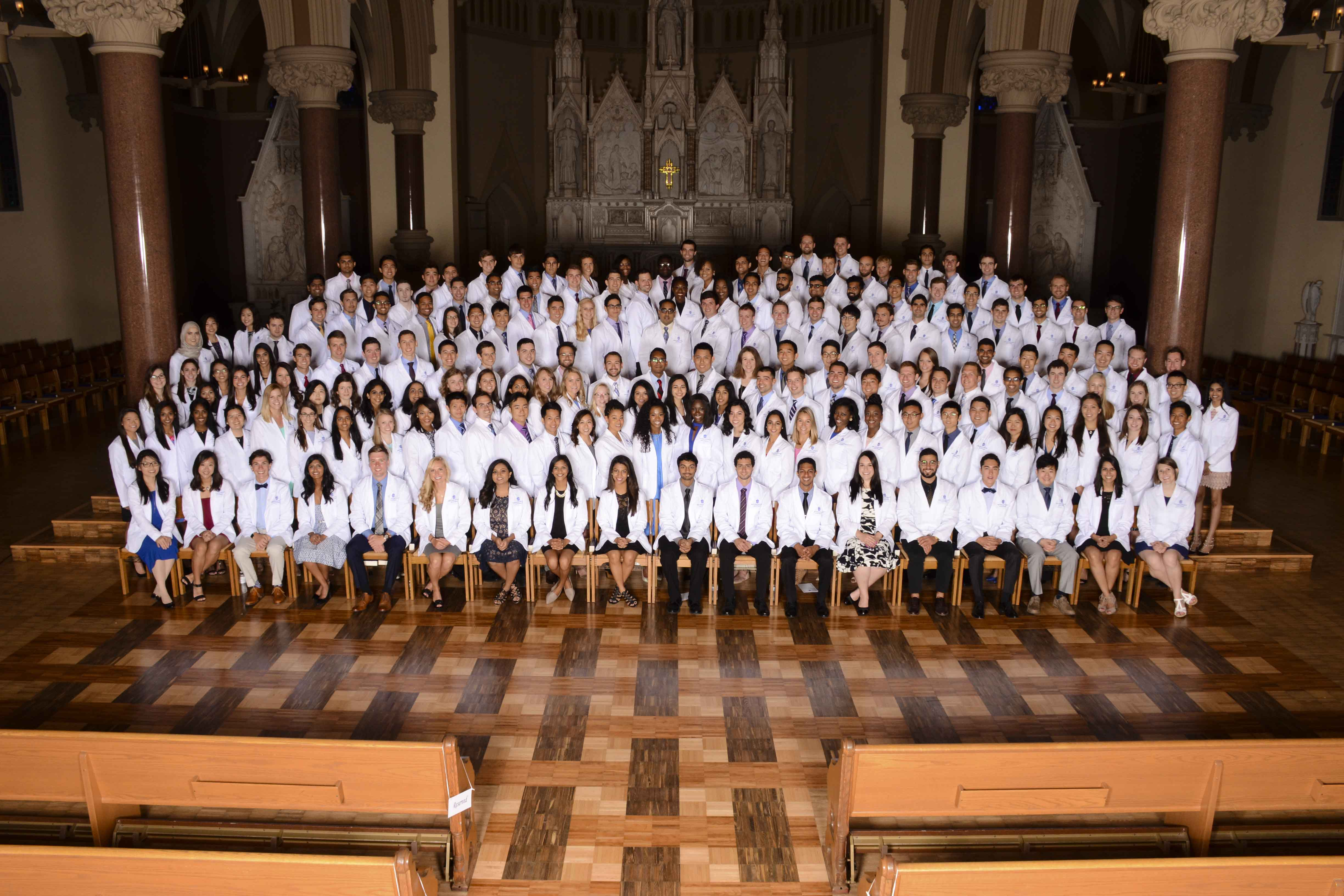 Saint Louis University School of Medicine Class of 2021.
