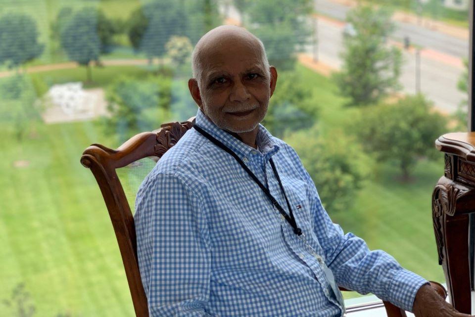 Abdul Waheed, Ph.D., emeritus research professor in biochemistry and molecular biology.