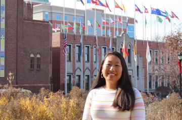 Marlene Wu, academic coordinator, TRIO-Educational Talent Search.