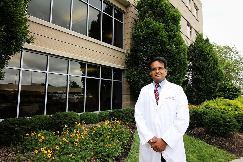 Principal investigator Ajay Jain, M.D. is a SLUCare pediatric hepatologist and gastroenterologist and the medical director of the pediatric liver transplant program at SSM Health Cardinal Glennon Children's Hospital.