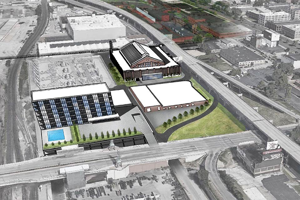St. Louis Armory Project Rendering