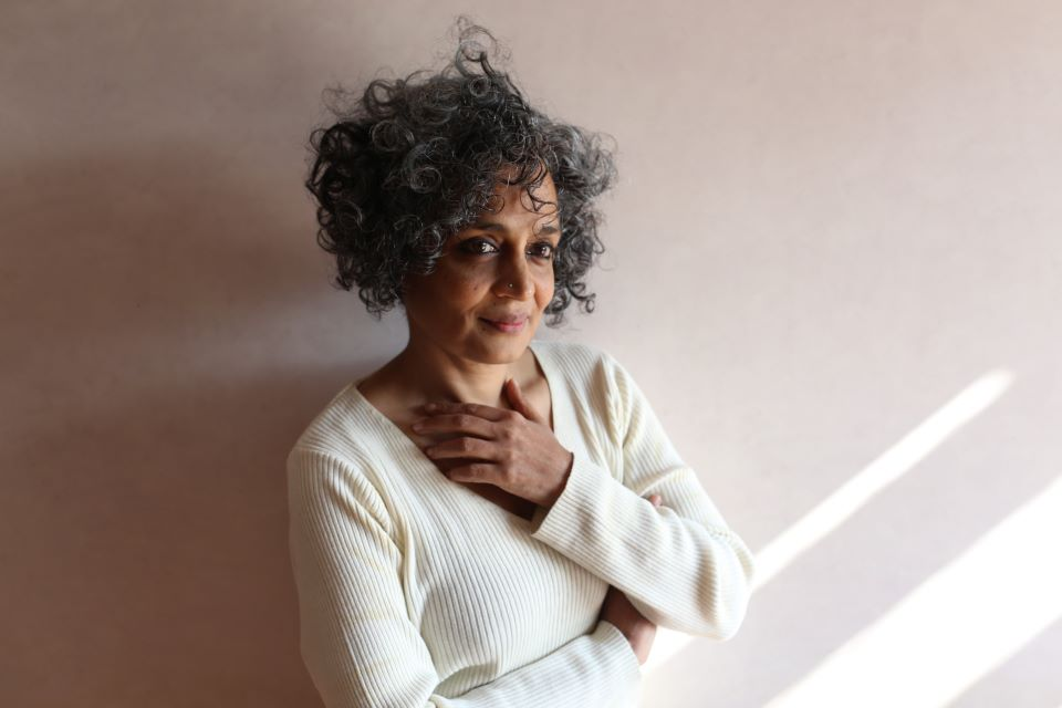 Arundhati Roy will receive the 2022 St. Louis Literary Award. Photo courtesy of Mayak Austen.