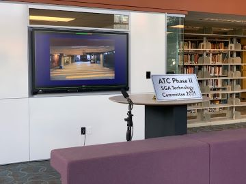 Phase II of the Academic Technology Commons is now open on the second floor of Pius XII Memorial Library