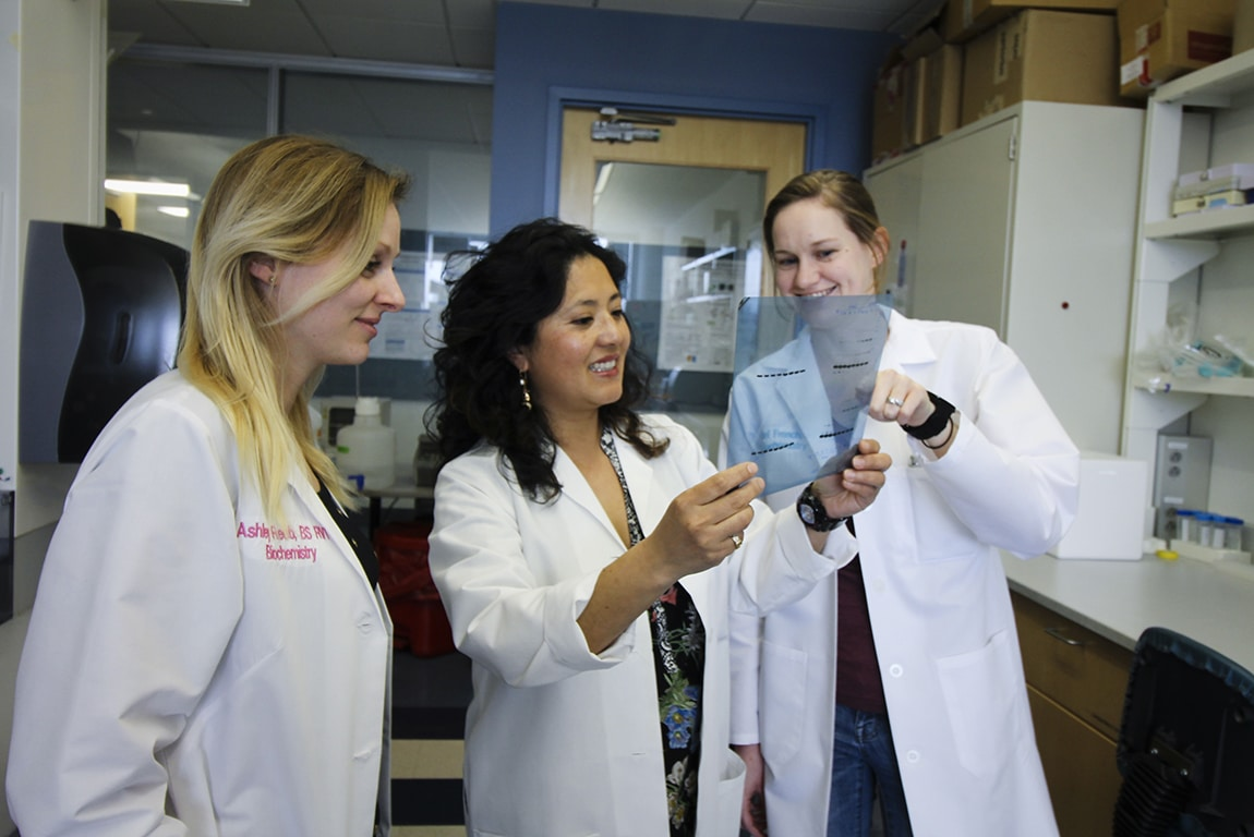 Yuna Ayala, Ph.D., and her research team