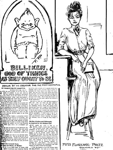 Florence Pretz and the Billiken
