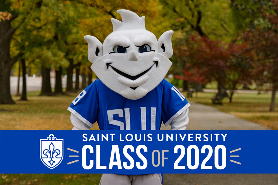 Though Saint Louis University's December commencement ceremony has been postponed, still want to celebrate with our class of 2020!