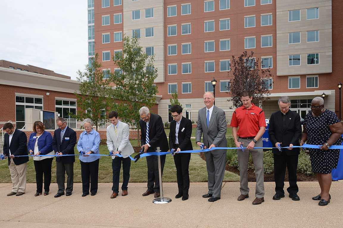 Spring Hall ribbon cutting ceremony