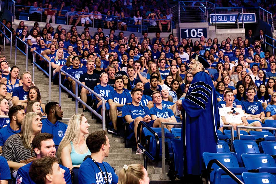 SLU New Student Convocation and Family Welcome