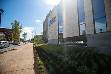 The new SLUCare medical building, known as the Center for Specialized Medicine, will open its doors to patients on Monday, Aug. 31. The state-of-the-art facility is an outpatient hub for SLUCare's primary care providers and specialists.