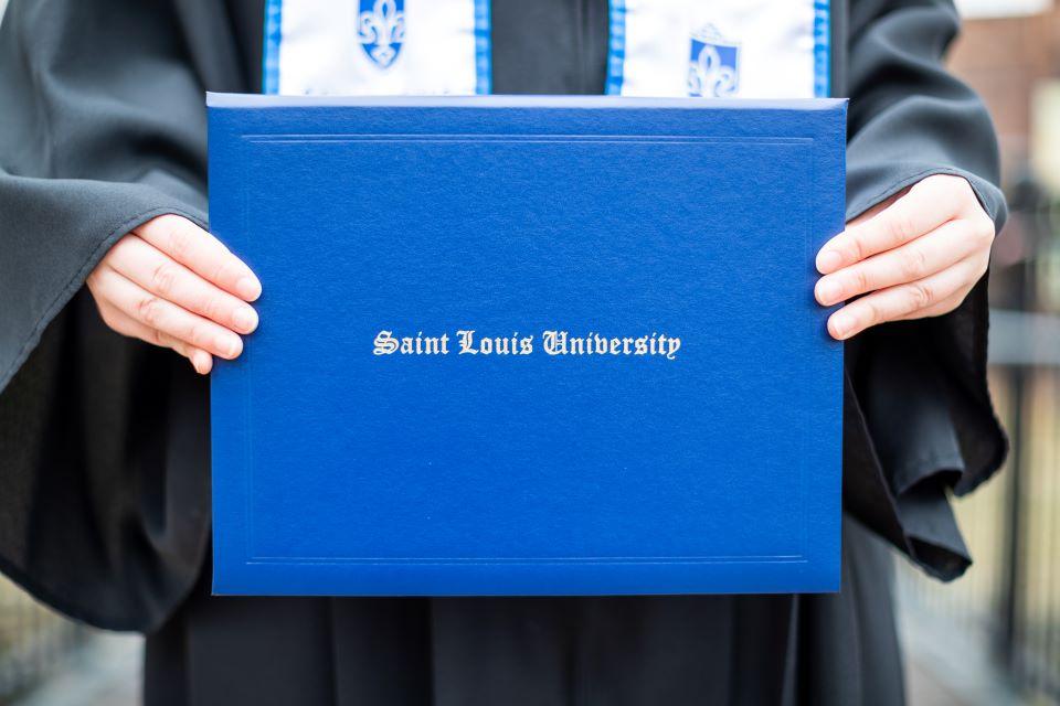A SLU diploma holder.