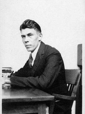 A young Edward A. Doisy, Ph.D.